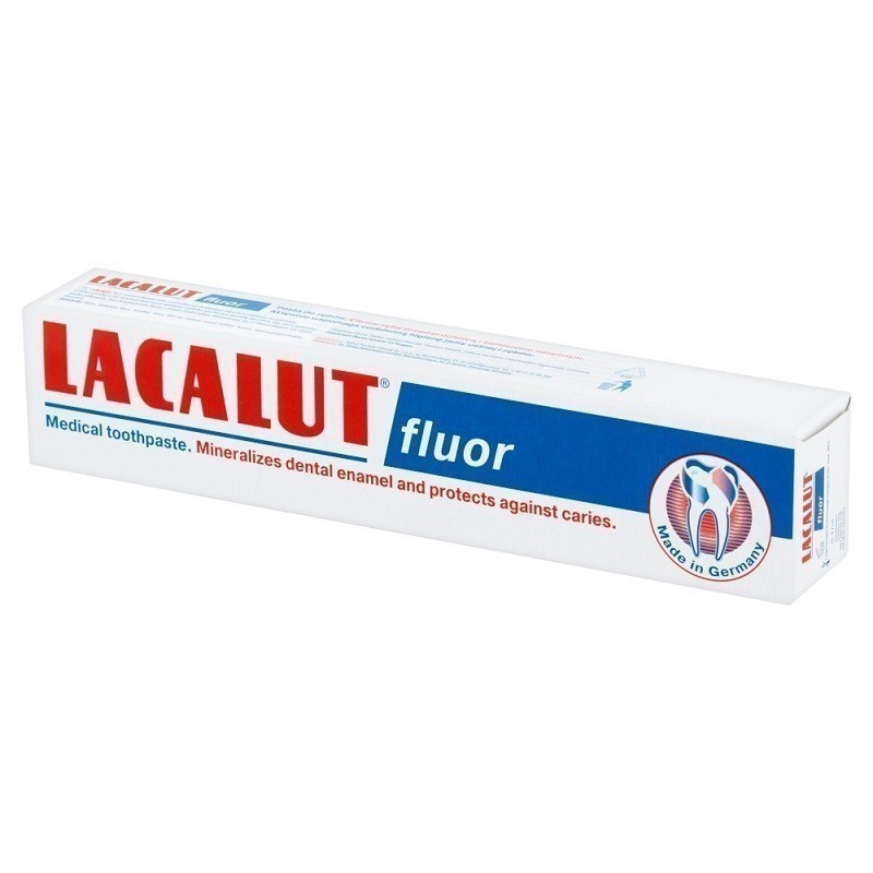 Lacalut Fluor Pasta do zębów 75 ml