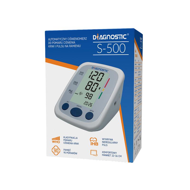 Diagnostic Ciśnieniomierz Automatyczny S-500 1 szt.
