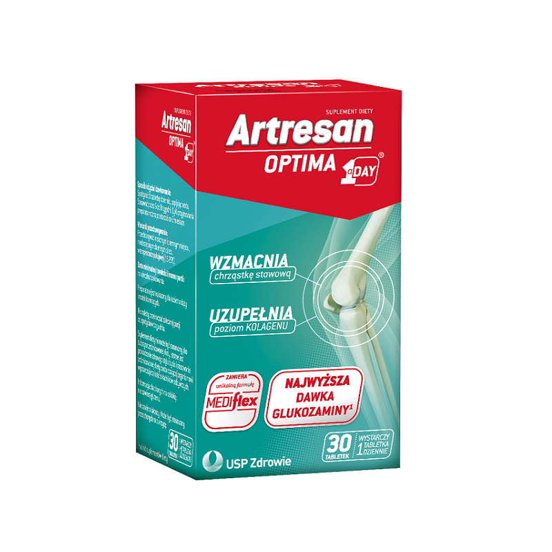 Artresan Optima 1 a Day 30 Tabletek