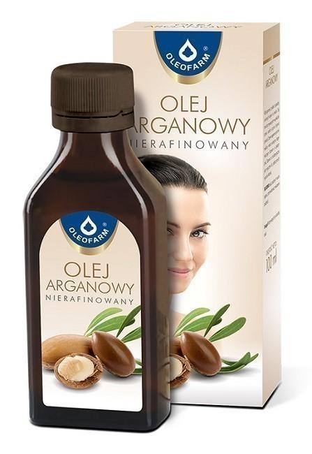 Oleofarm Olej Arganowy Nierafinowany 100 ml