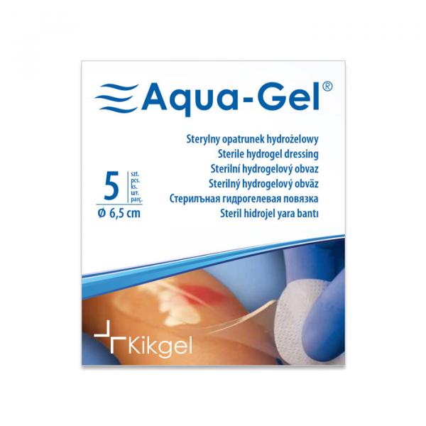 Aqua-Gel Opatrunek Hydrożelowy średnica 6,5 cm