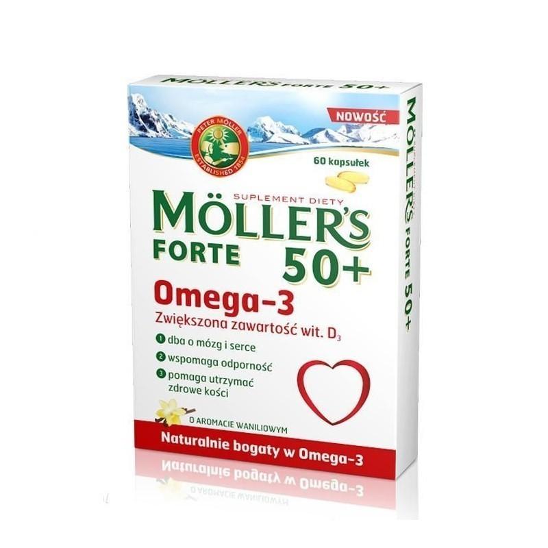 Mollers Forte 50+ 60 Kapsułek