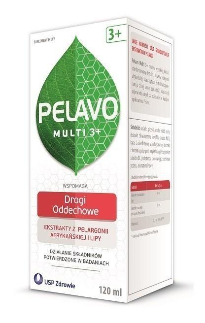 Pelavo Multi 3+  Drogi oddechowe Syrop 120 ml