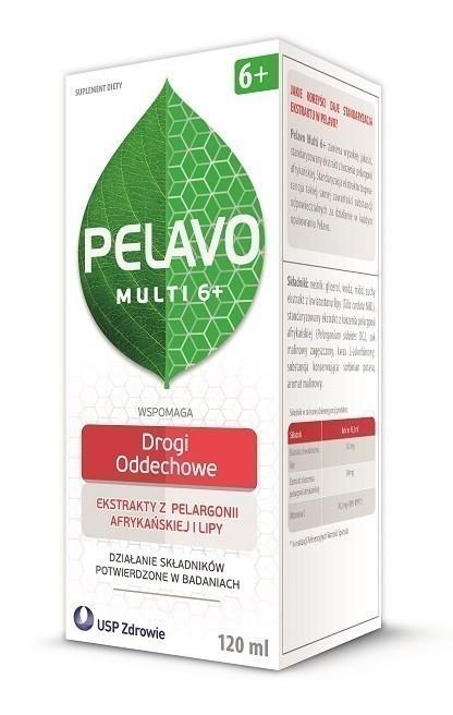 Pelavo Multi 6+ Drogi oddechowe Syrop 120 ml