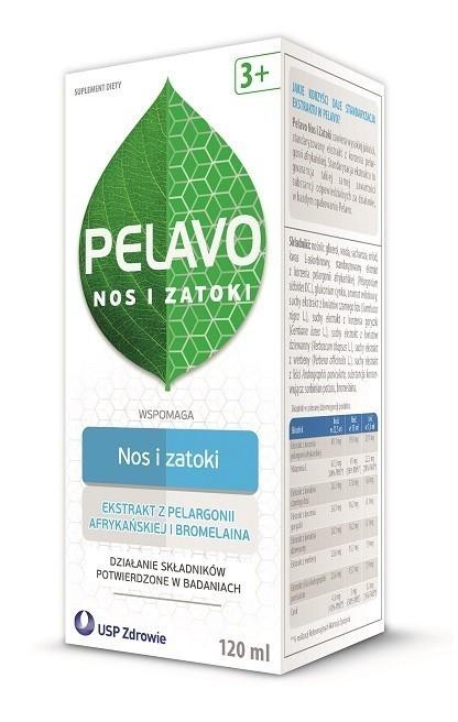 Pelavo Nos i Zatoki Syrop 120 ml