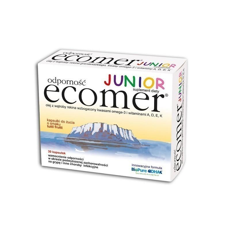 Ecomer Odporność Junior 30 Kapsułek