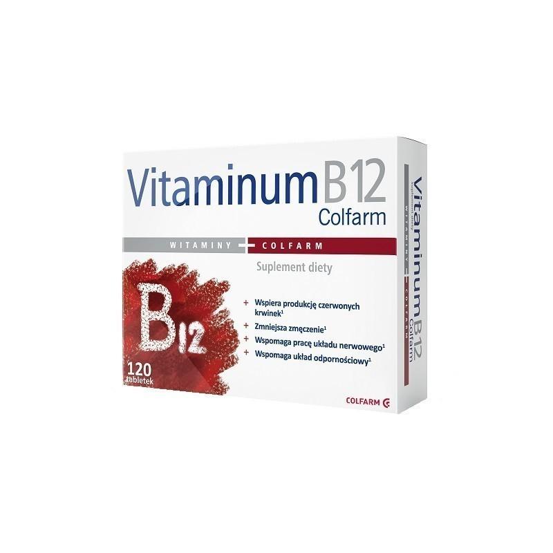 Vitaminum B12 120 Tabletek