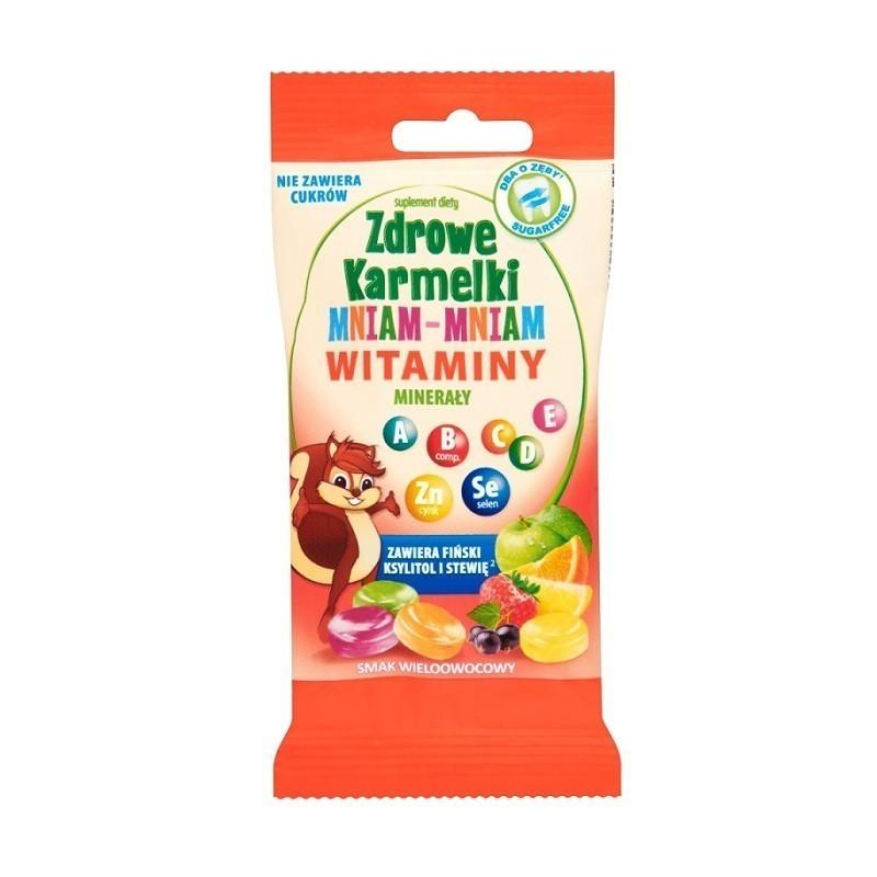 Zdrowe Karmelki Mniam-Mniam Witaminy i Minerały 40 g