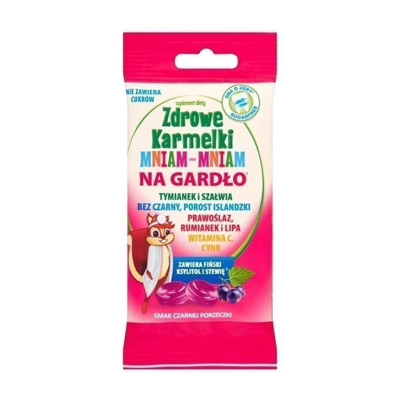 Zdrowe Karmelki Mniam-Mniam Na Gardło 40 g