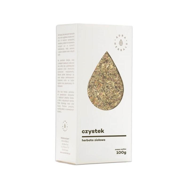 Czystek Suszony Herbata Ziołowa 100 g