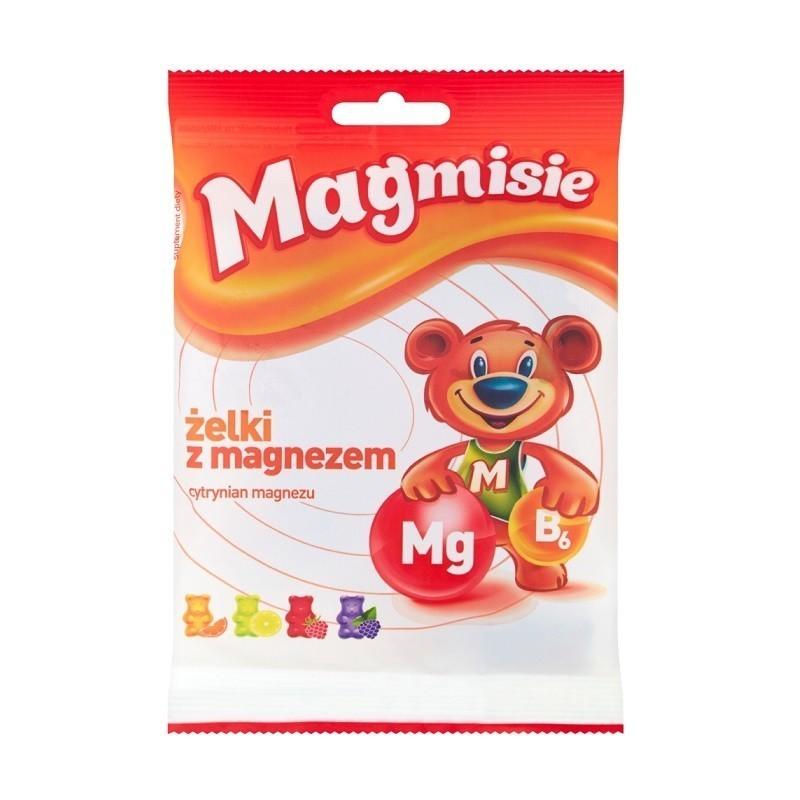 Magmisie Żelki z Magnezem 30 Sztuk
