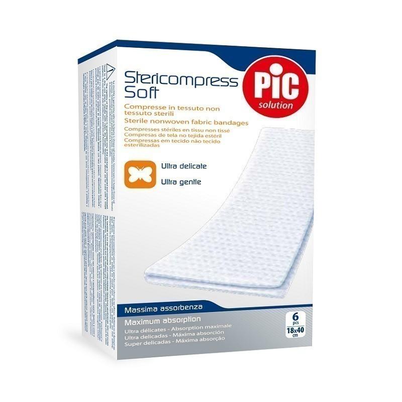 Pic Stericompress Soft Kompresy 18 x 40 cm 6szt.