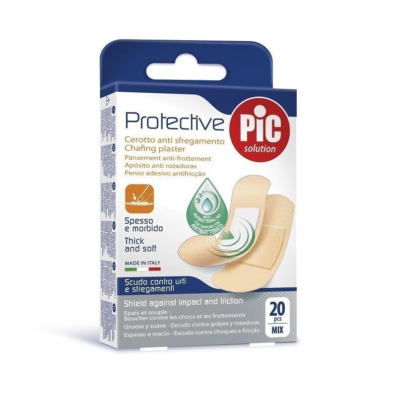 Pic Protective Plastry Mix rozmiarów 20szt.
