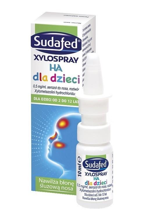 Sudafed XyloSpray HA Dla Dzieci 10 ml