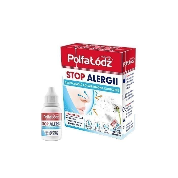 Stop Alergii Polfa Łódź Aerozol do nosa