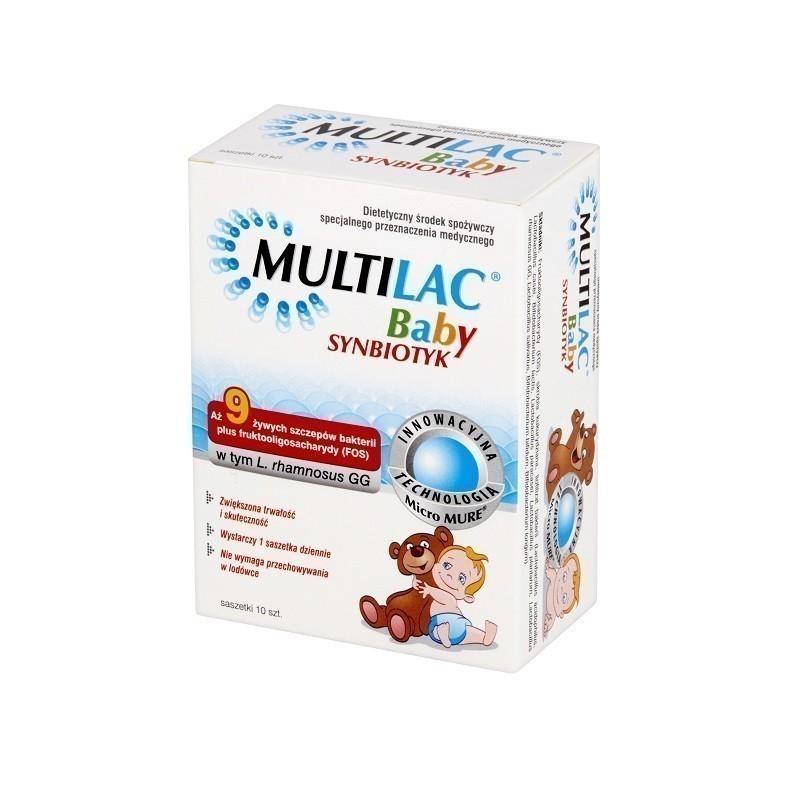 Multilac Baby 10 Saszetek