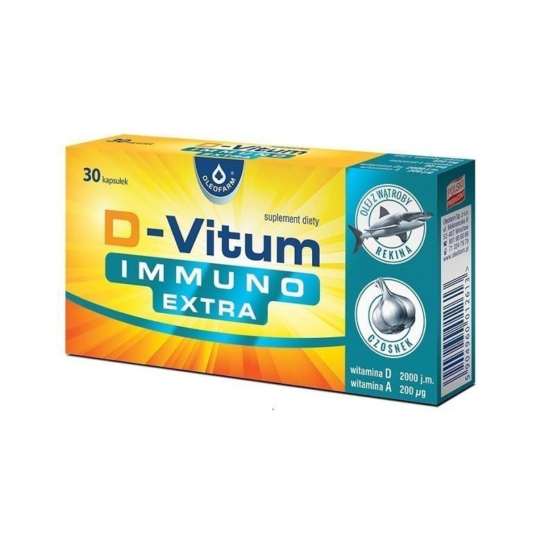 D-Vitum Immuno Extra 30 Kapsułek