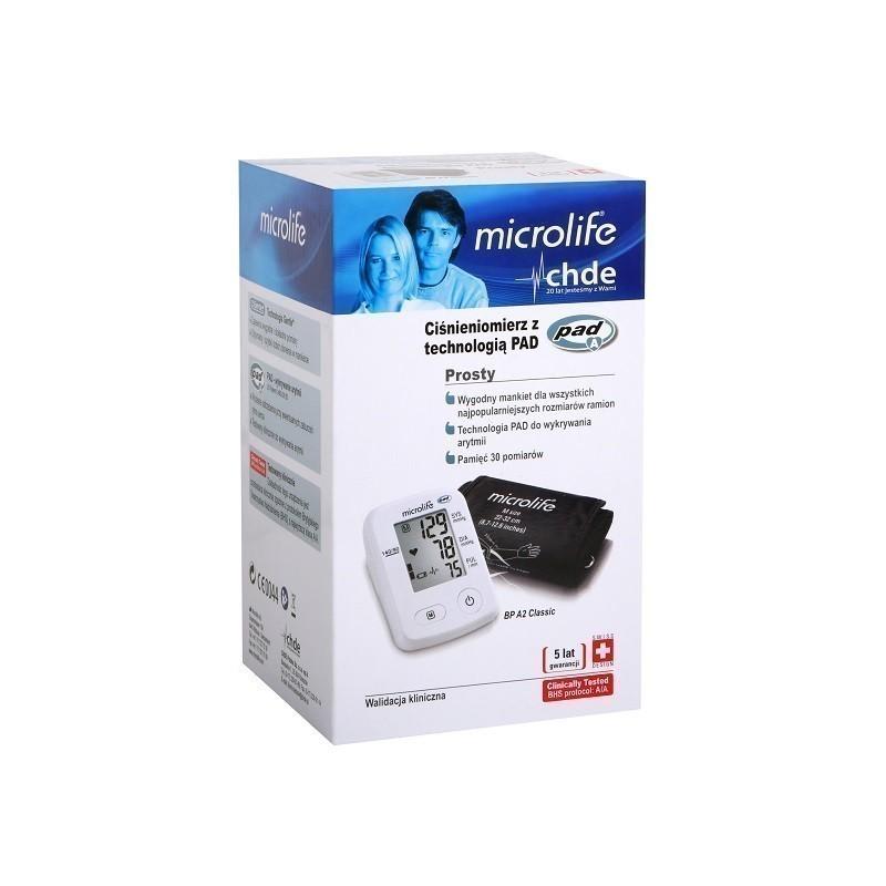 Microlife Ciśnieniomierz BP A2 Classic Automatyczny 1 szt.
