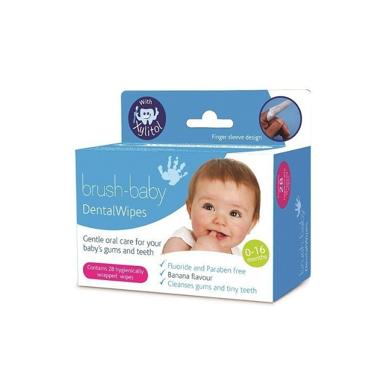 Brush-Baby Dental Wipes 28szt.