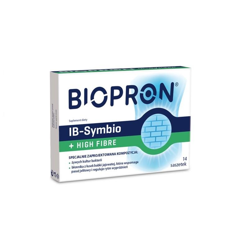 Biopron IB-Symbio + High Fibre 14 Saszetek