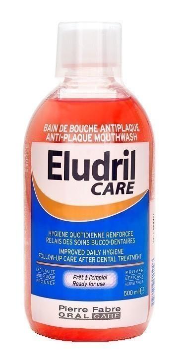 Eludril Care Anti-Plaque Płyn do płukania jamy ustnej 500 ml