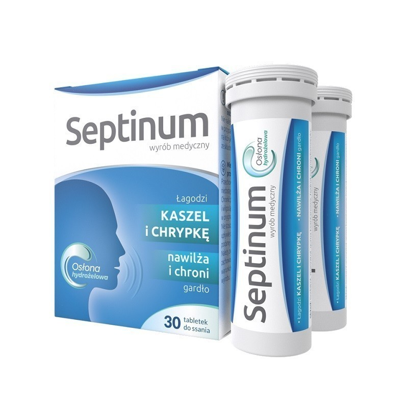 Septinum Tabletki do ssania 30 Tabletek