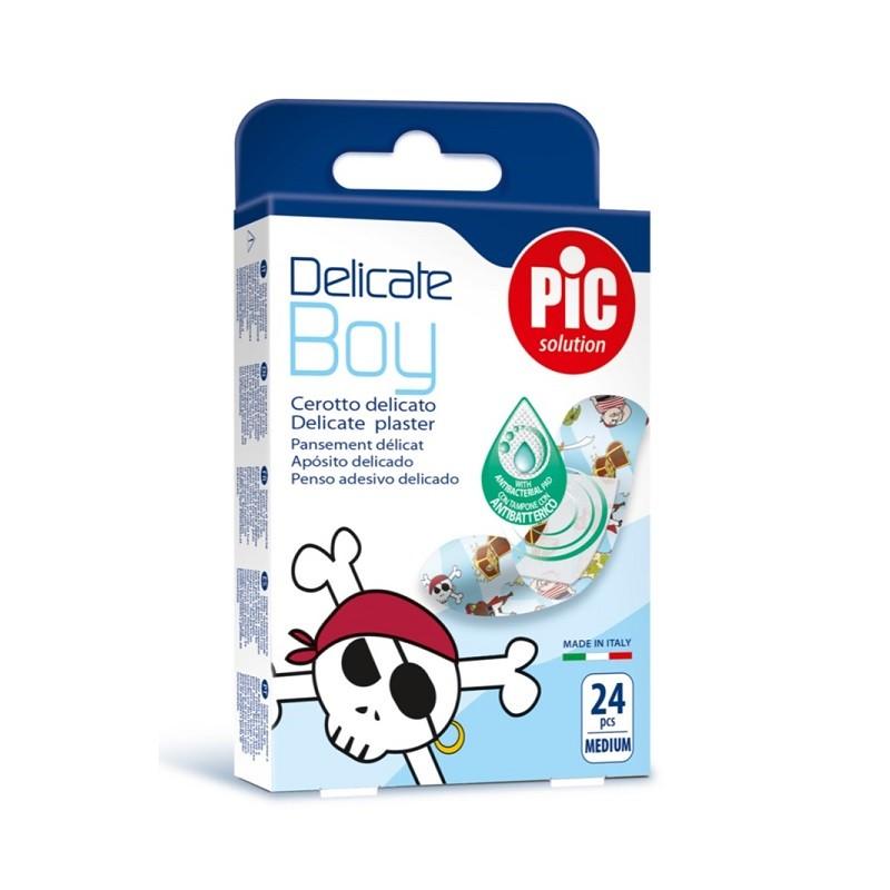 Pic Delicate Kids Boy Plastry 24 szt.