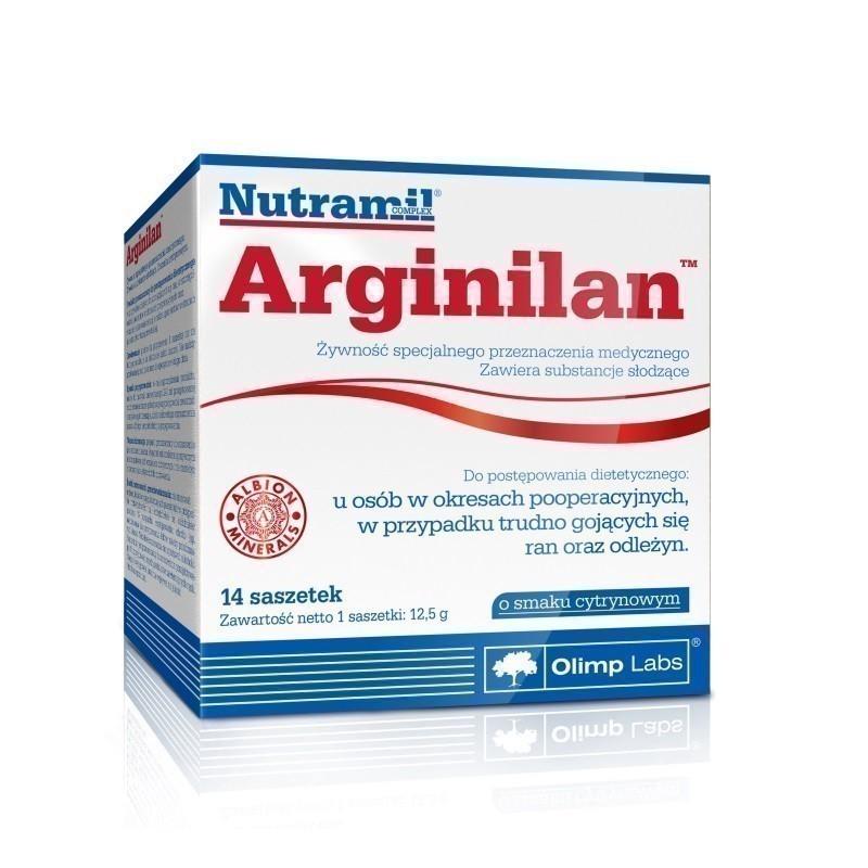 Olimp Arginilan 14 Saszetek o smaku cytrynowym