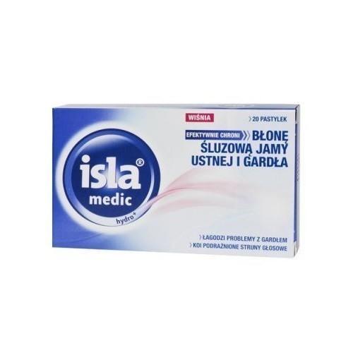 Isla Medic Hydro+ Smak Wiśniowy 20 Pastylek