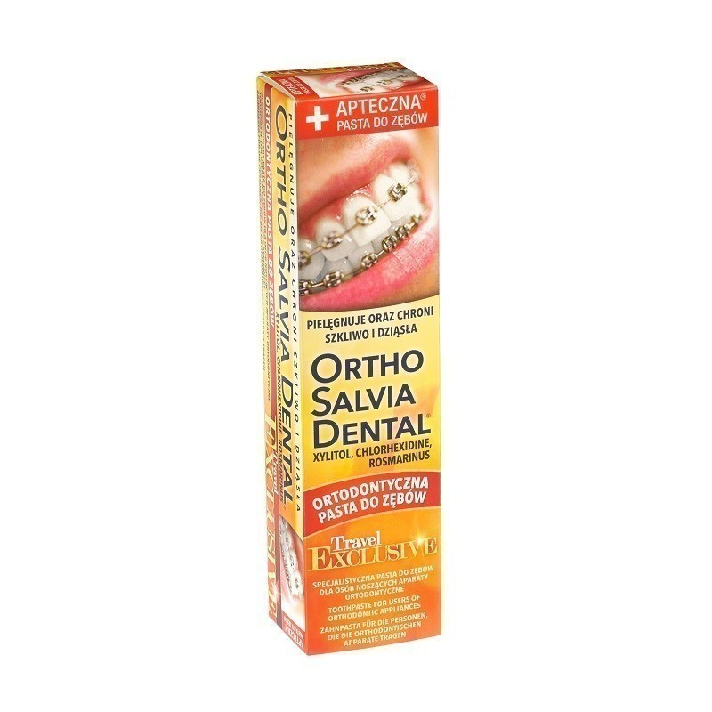 Ortho Salvia Dental Travel Exclusive Pasta do zębów 75 ml