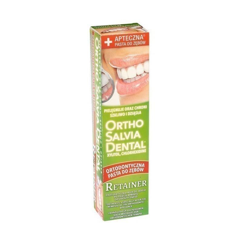 Ortho Salvia Dental Retainer Specjalistyczna Pasta do zębów 75 ml