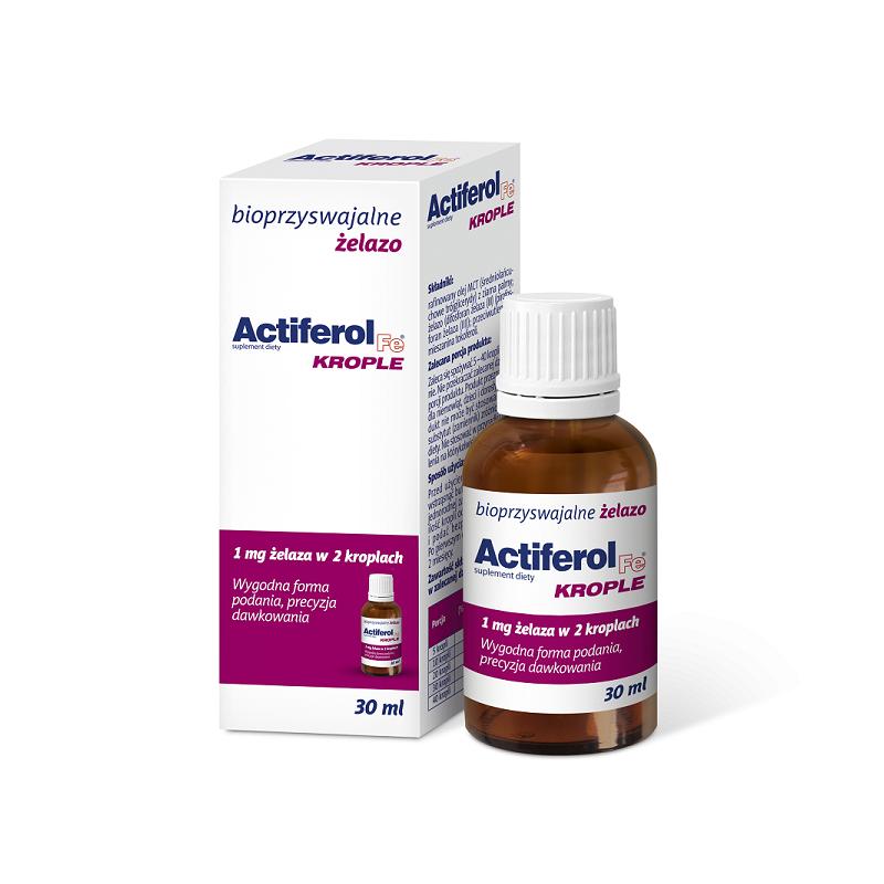 Actiferol Fe Krople doustne 30 ml