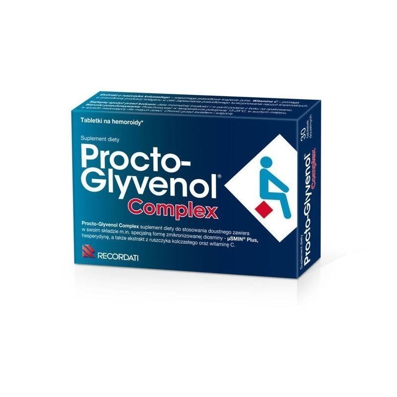 Procto-Glyvenol Complex 30 Tabletek