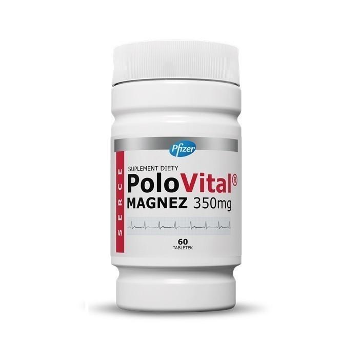 Polovital Magnez 350 mg 60 Tabletek