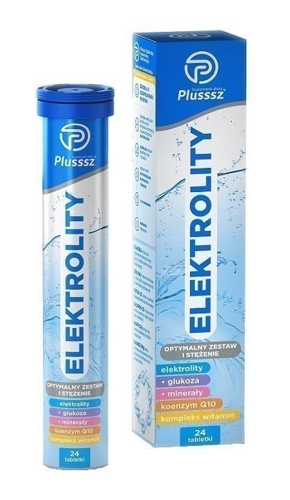 Plusssz Elektrolity 24 Tabletki