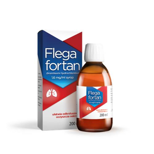 Flegafortan Syrop 200 ml
