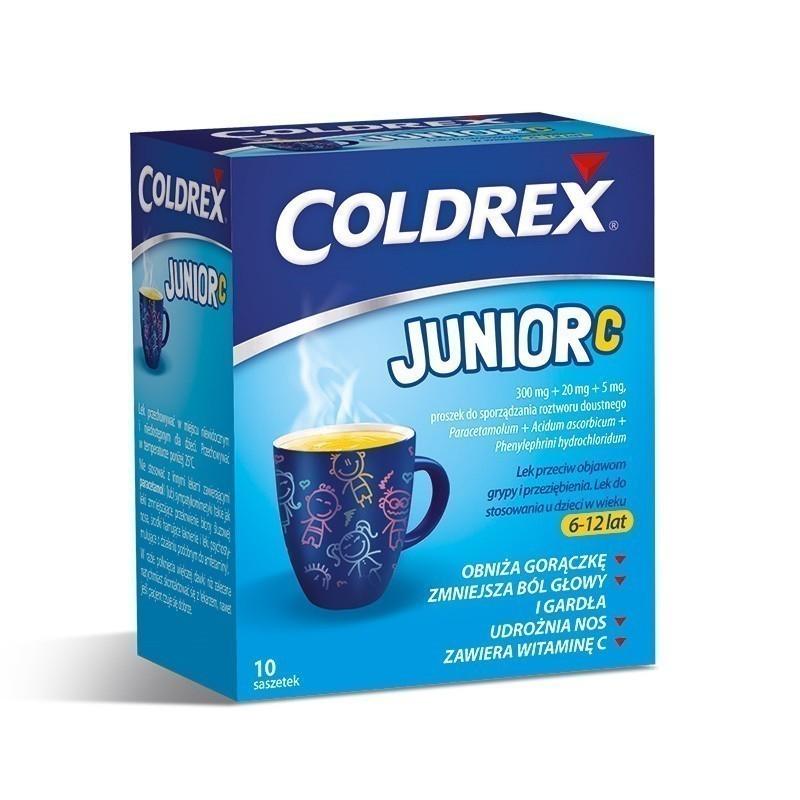 Coldrex Junior C 10 Saszetek