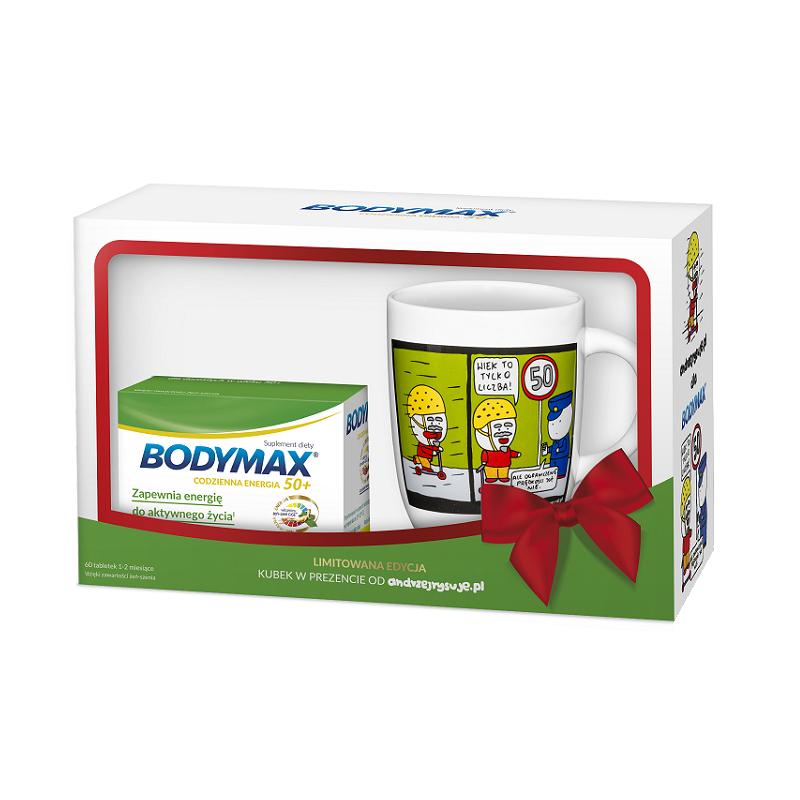 Bodymax 50+ Codzienna Energia 60 tabl. + Kubek Gratis