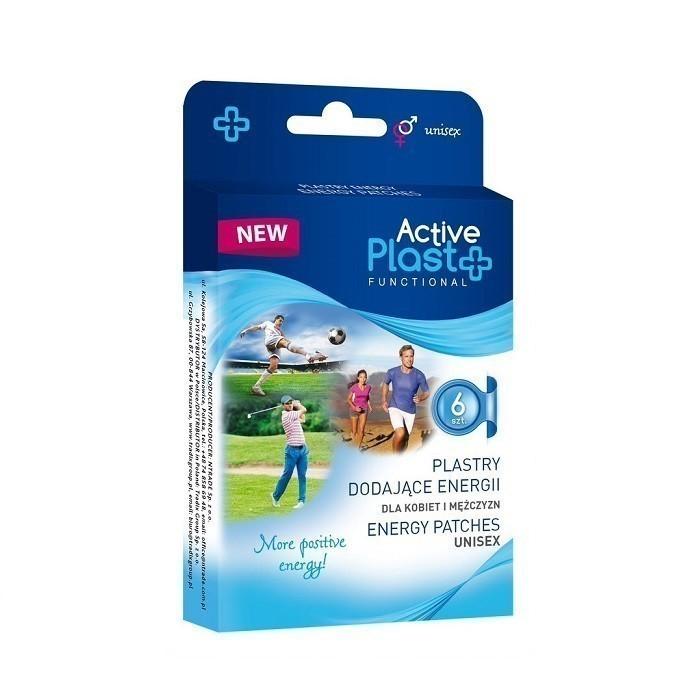 Activ Plast Na Wzrost Energii Plastry 6 szt.