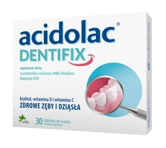 Acidolac Dentifix 30 Tabletek
