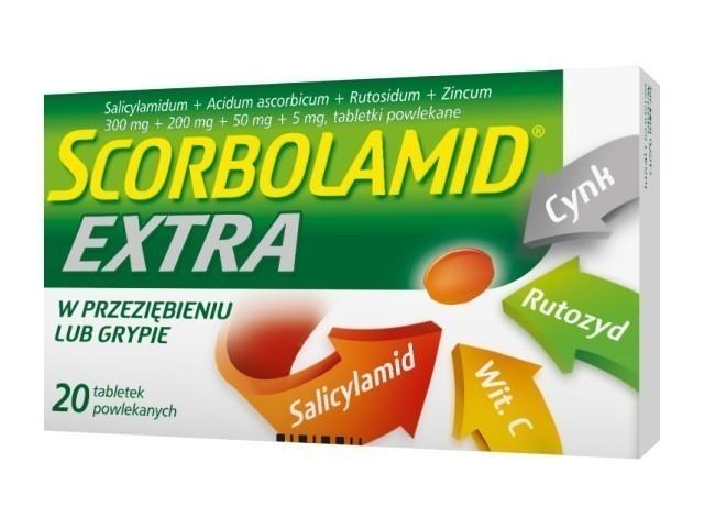 Scorbolamid Extra 20 Tabletek