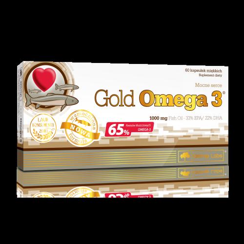 Olimp Gold Omega 3 60 Kapsułek