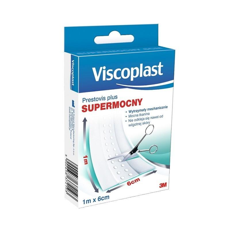 Viscoplast Supermocny Plaster do cięcia 1m x 6cm