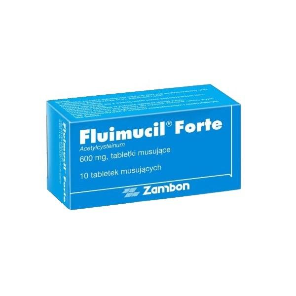 Fluimucil Forte 10 Tabletek musujących