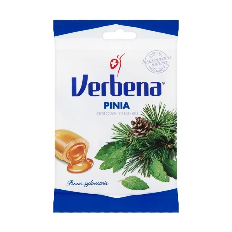 Verbena Cukierki Pinia z Witaminą C 60 g