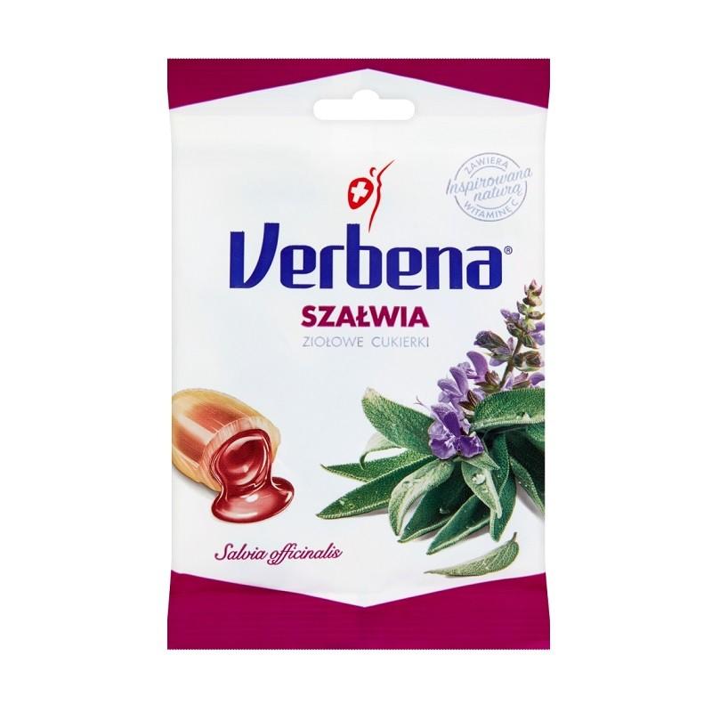 Verbena Cukierki Szałwia z Witaminą C 60 g