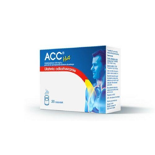 Acc Hot Max 200 mg 20 Saszetek