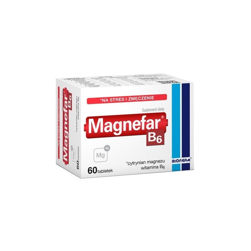 Magnefar B6 60 Tabletek