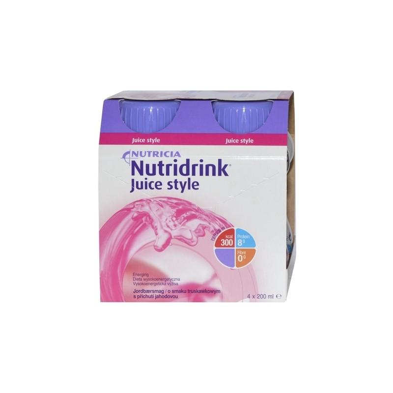 Nutridrink Juice Style truskawkowy