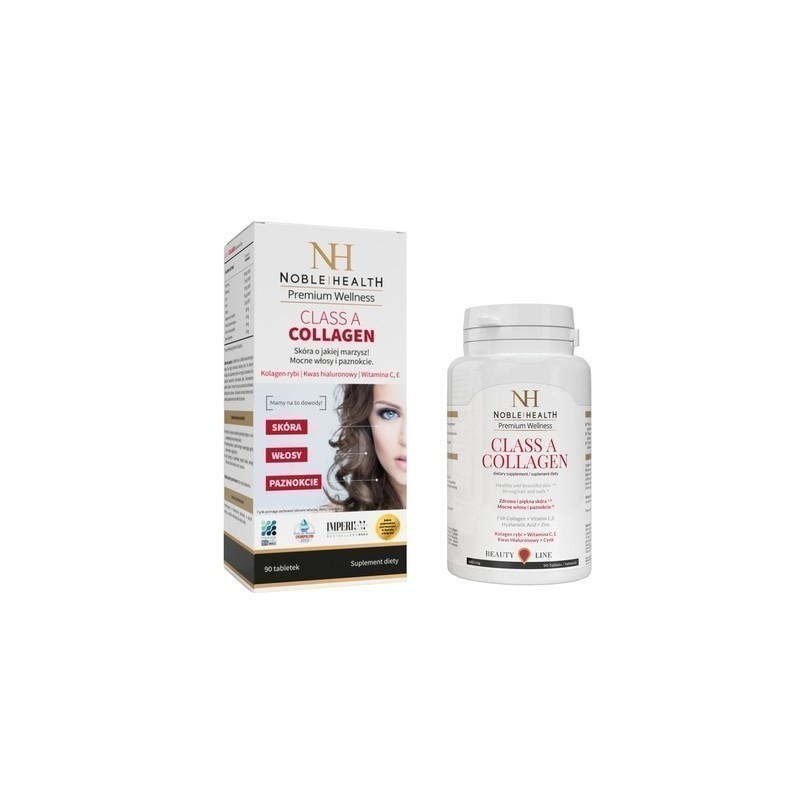 Noble Health Class a Collagen 90 Tabletek
